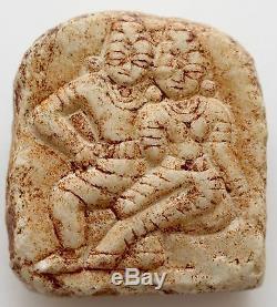 Buddha Stein klein Talisman Platte Nepal Burma Thailand Indien Tibet