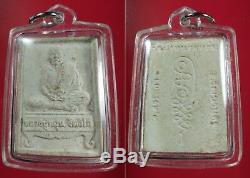 Buddha Thai Amulet LP. Mun Mahashetti Rich Powder of Magic Powerful Miracle Luck
