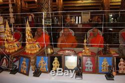 Buddha Thai Amulet Vaisravana Bishamonten, wessuwan 925 silver coin