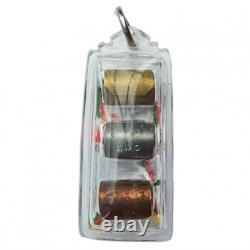 CK Rak Takrut Lokathat Sangkasat BE2562 Thai Amulet Pendant Buddha Talisman Rare