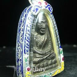Card, Pra LP Thuad Wat Chang Hai, Bronze, Year 2505 very rare special Thai Buddha#1