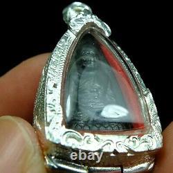 Card! Pra LP Thuad Wat Chang Hai, Bronze, Year 2508 very rare special Thai Buddha