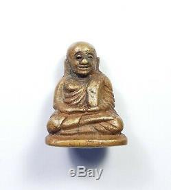 Certificate Rare Old Phra LP Ngern Pim Niyom Wat Bangklan Thai Buddha Amulet