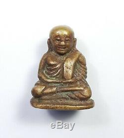 Certificate Rare Phra LP Ngern Pim Niyom Wat Bangklan Thai Buddha Amulet