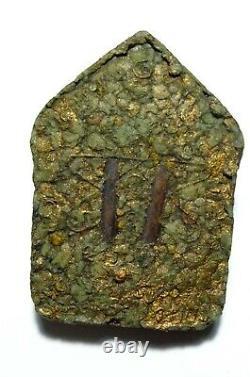 Certificated Thai Buddha Amulet Very Rare Phra Khun Pean Lp Tim Be 2515