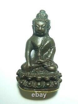 Certificated Thai Buddha Amulet Very Rare Phra Kring Lp Tim