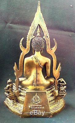 Chaingsaen Srisakkayamuni Buddha Chinnarat Statues Thai Amulet Pendant 14 Tall