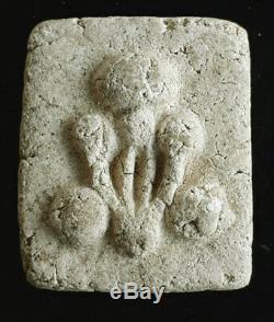 First Generation Phra Pidta Kradook Phi Arjan Noo Wat Pho Old Thai Buddha Amulet