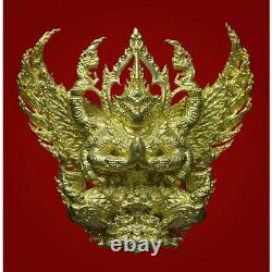 Garuda God Shinawaro Gold Noppakhun Bangna Temple Buddha Statue thai Amulet Rare