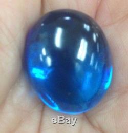 Gems Naga Eye Crystal Real Lucky Powerful Buddha Blue Thai Amulet Holy Sex Love