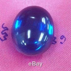 Gems Naga Eye Crystal Real Powerful Buddha Blue Thai Amulet Holy Talisman Love