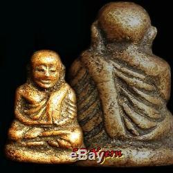 Genuine LP Ngern Wat Hoykeain Thai Amulet Thailand Buddha Lucky Pendant Talisman