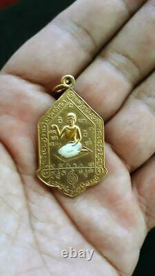 Genuine Phra Nang Kwak LP JAIR Thai Amulet Magic Buddha Powerful Lucky BE. 2502