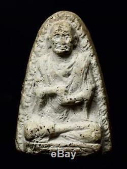 Genuine Thai Amulet Phra Somdej Toh Wat PRASAT Buddha in 925 Silver case