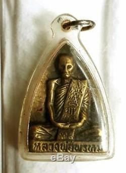 Genuine Thai Magic Amulet Buddha LP Phrom Wat Chong Kae Phim Niyom BE. 2516