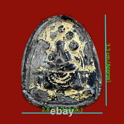 Genuine, Thai magic buddha amulet Phra Pidta Lp Heang powerful lucky, protection