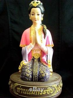 Goddess Whisper Mae Kasip Talisman Magic Luck Charm Wealth Thai Buddha Amulet
