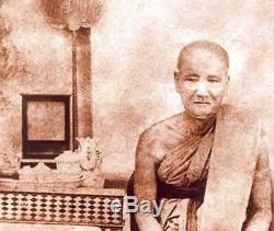 Gold Tarkrut in Silver Case By LP Eam Talisman Thai Buddha Amulet Good Lucky