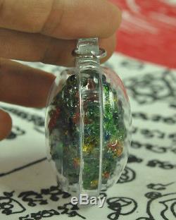 Gorgeous Best LEKLAI King Phaya Kod Phee Kaew Thai Buddha Jewel Natural Amulet