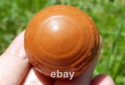 Holy Sarira Pra Tath Sam Roi Yod Buddha SUN Relic Thai Sphere Amulet #aa1566g