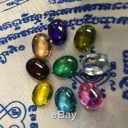 Hunted Voodoo Naga pearl EYE Spirit Gem sacred gem THAI AMULET BUDDHA HOLY LOVE