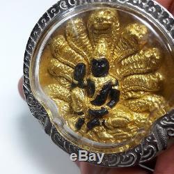Jatukam 12 Thai Zodiac. Pidta & 2 Giant Phra Rahu. Thai Amulet Rare Buddha 2550
