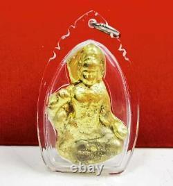 Jatukam Ramathap Naga Gold Leklai Lucky Rich Thai Amulet Buddha Talisman pendant