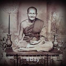 Krut-phee-sua Nurdin Lp Phan Wat Bangnomko Clay Buddha Thai Genuine Amulets