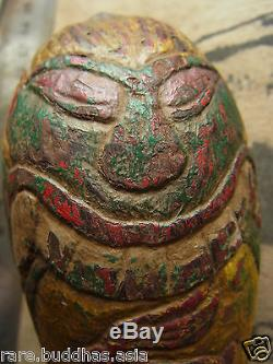 Kala Rahu Kala Songta 2 eye Kruba Nanta Wat Thung Mantai Lampang Thai Buddha