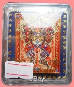 King Of Butterfly Thep Jamlang Phamorn Kruba Krissana Thai Buddha Amulet BE2555