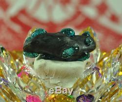 Kod Phee + LEKLAI Kaew Rattanachart Lek lai Lp Somporn Thai Metal buddha Amulet