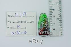 LEKLAI KAEW LP Tuad talismans protect magic lucky Rare thai buddha amulet 747