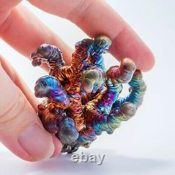 LEKLAI NAGA BUCHA Rainbow magic lucky thai buddha amulet protect Rare LP 1033