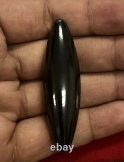 LEKLAI Peek MalangTup Black Talisman Protect Magic Lucky Buddha Thai Amulet