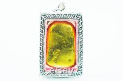 LEKlAI Thangplalai phra somdej thai buddha amulet real power lucky protect 739