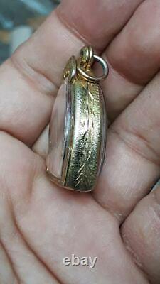 LP BOON Thai Real Magic Love Amulet Money Lucky Wealth Thailand Buddha Talisman