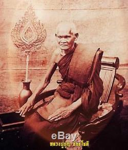 LP BOON Wat KLANGBANGKAEW Thai Buddha Magical Amulets Money Lucky Pendant Fetish