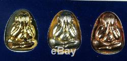 LP KOON Amulet Phra Pidta Thai Buddha Best Protect life Lucky Pendant, B. E. 2538