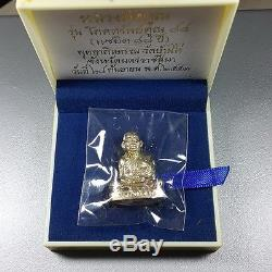Lp Koon Wat Banrai Thai Amulet Buddha Pokasab88 Saeyid88 Silver#2 Be. 2553 Lucky