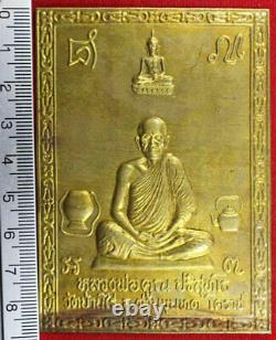 LP KOON Yant Thai Buddha Amulet For Lucky Pendant, B. E. 2528, Genuine From Temple