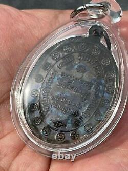 LP Kasem Phra Year 2536 Wat Susantrilak Roon Ranger 2 Lampang Thai Buddha Amulet