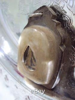 LP Ngern Pim Keeta Statue Old Case Talisman Magic Thai Buddha Amulet Antique