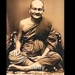 LP Parn Black Color Amulet Phim Song Chicken Thai Magic Buddha Pendant Talisman
