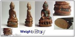 LP Phra Kring Wat Bowon Bell Thai Amulet Buddha Monk Super Powerful Protection