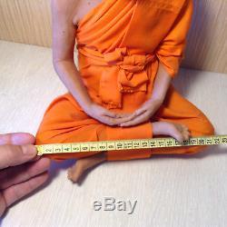 LP Sod Thai Guru monk Wat PakNam, Buddha amulet Meditation Statue 300 mm