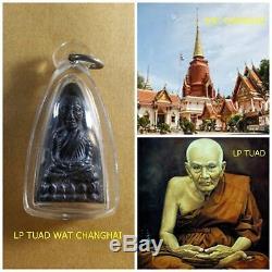 LP TUAD WAT CHANGHAI, 100% Real Rare Thai Amulet Somdej Buddha Statue Pendant #1