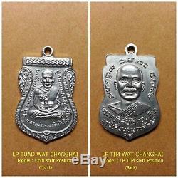 LP TUAD WAT CHANGHAI, 100% Real Rare Thai Amulet Somdej Buddha Statue Pendant #2
