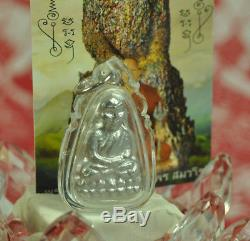 LP Tuad Leklai Watcharatad Talisman LP Somphon Somporn Real Thai Buddha Amulet