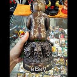 LUCKY KUMAN THONG SUPER RICH LP KERN WAT ClongBuRe VOODOO THAI BUDDHA AMULET
