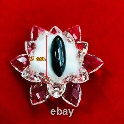 Leklai Amulet Thai Lp Kodpee Naga Buffalo Mountain Magic Buddha Stone Holy Lucky